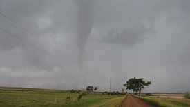 Dissipating Tornado