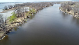 Backwards Motion Over River