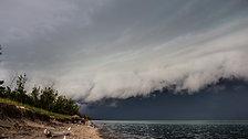 Lake Huron Storm [Time Lapse]
