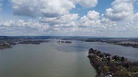 Cumulus Over River