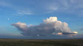 Towering Cumulus at Sunset
