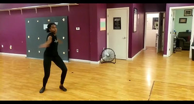 """""""Glam""""- Jazz class taught by Crystal Lewis"""
