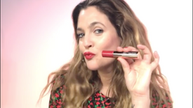 """Drew Barrymore's Flower Makeup"" published on Walmart's Instagram & Facebook"
