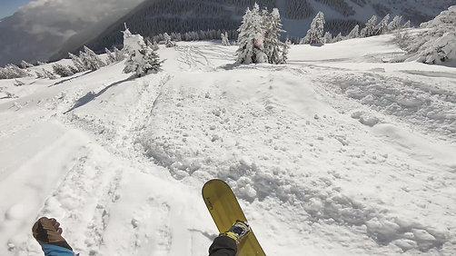 Backcountry backflip