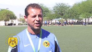 Entrevista DT Israel Hernandez Club America U20