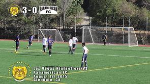 Las Vegas Highrollers Vs Panamerican FC