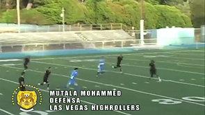 Mutala Mohammed Defensa Las Vegas Highrollers