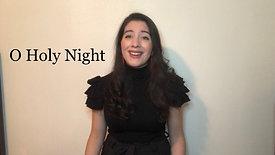 O Holy Night, Alexandra Imbrosci-Viera