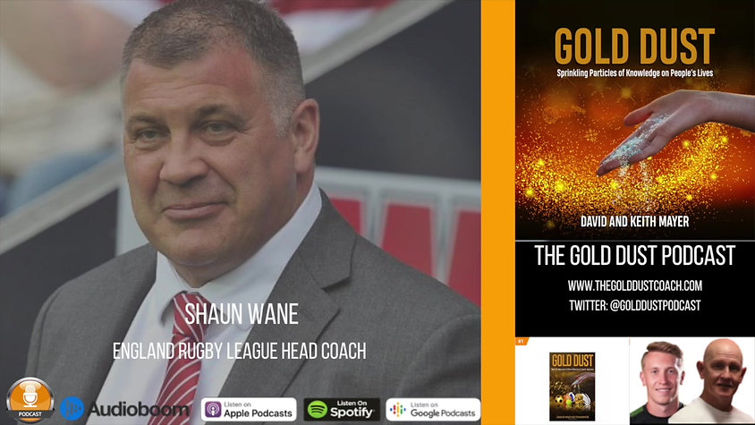 Shaun Wane - A Stickler For Standards and Detail