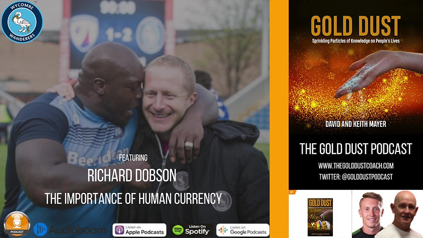Richard Dobson - The Importance of Human Currency