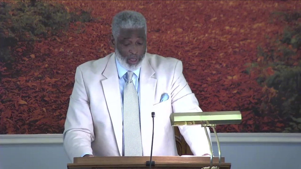 Elder Carroll Mitchell  My live stream