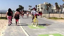 Bike Riding At The Beach