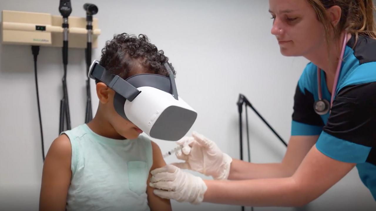 Luna VR: VR Vaccines