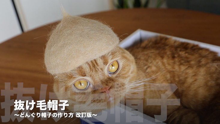 どんぐり帽子の作り方