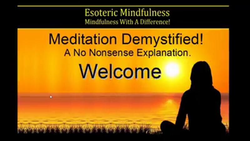 Meditation Demystified Free Intro