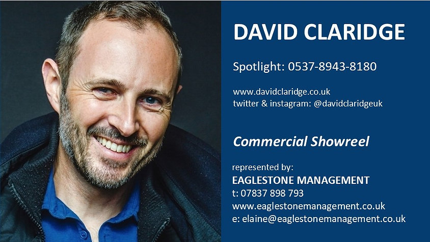 David Claridge Commercial Showreel