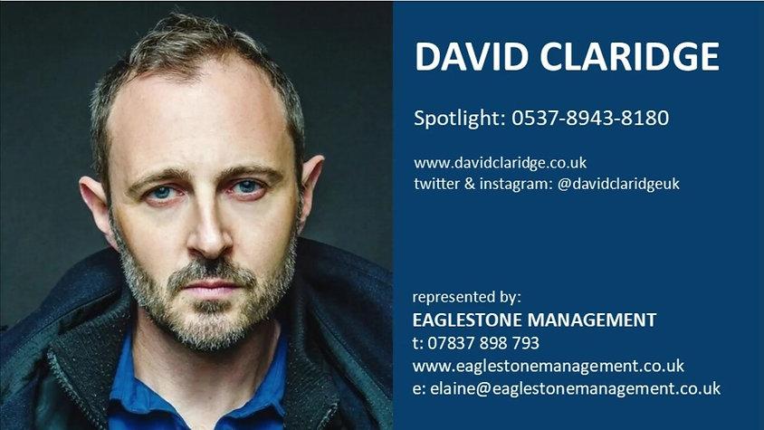 David Claridge Dramatic Showreel