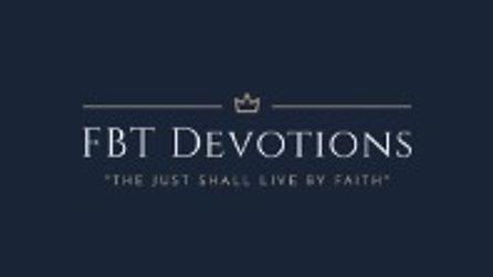 FBT Devotion 10/30/2020
