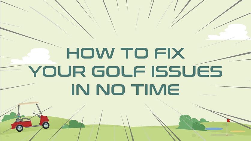 Acceleraze golf swing fixes