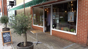 Paid for by a kind stranger : Woodland coffee shop