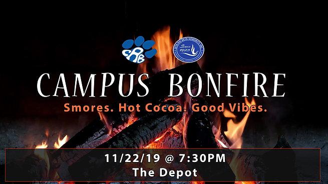Social Media Ad: Campus Bonfire