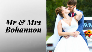 Wedding Recap - Mr & Mrs Bohannon 💙💍