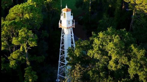 The Hilton Head Rear Range Lighthouse