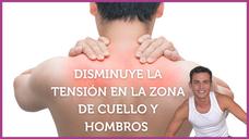 🙌Disminuye la tensión en la zona de CUELLO Y HOMBROS ✅ Rutina TERAPÉUTICA