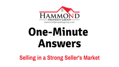 Selling in a Strong Seller's Market