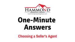Choosing a Sellers Agent