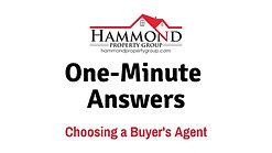 Choosing a Buyer's Agent