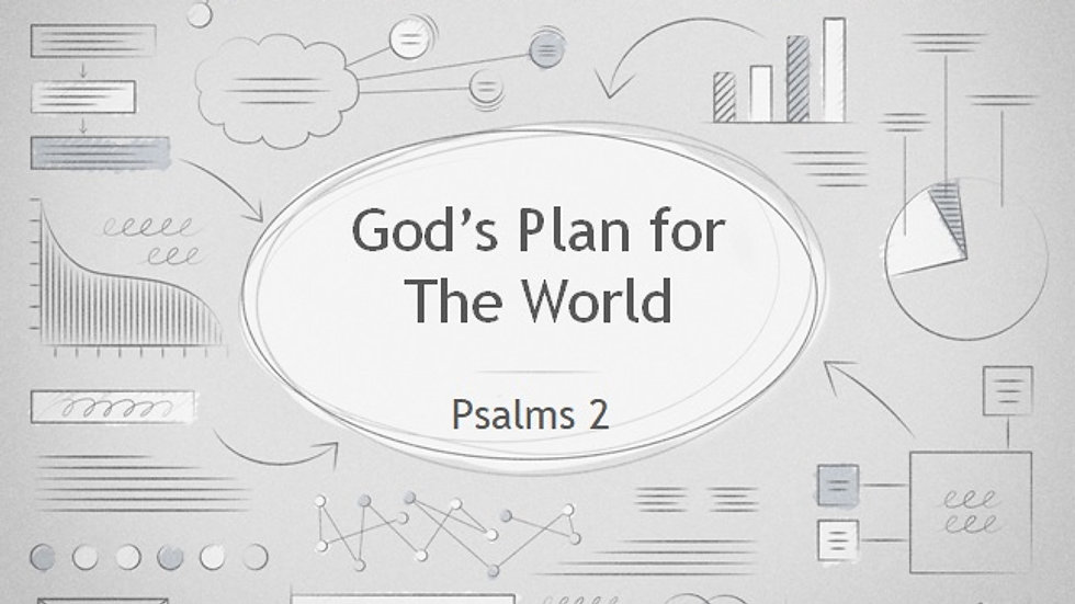 God's Plan for the World
