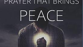 Prayer That Brings Peace