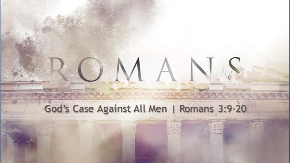 God's case against all men