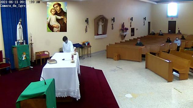 2021-06-13- Missa Xi Domingo e Santo ANTONIO de LISBOA