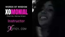 Monica Wilson Words of Wisdom