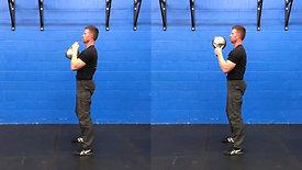Goblet Squat Comparison: Regular vs. Bottoms Up