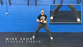 Wide Stagger Stances