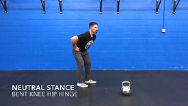 Hip Hinge (Neutral Square, Bent Knee)