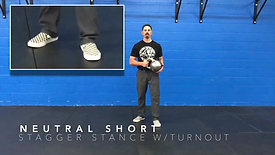 Stagger Stances with Turnout