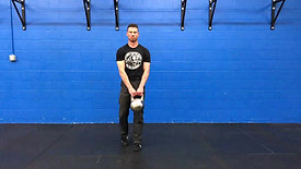 Kickstand Deadlift (Outside The Foot, Two Hand)