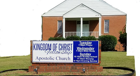 KINGDOM OF CHIRST FELLOWSHIP SUNDAY MORNING