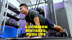 3 Common Mistakes when doing a Push Up