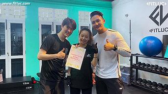 Christmas Workout with Lee Teng and Gina