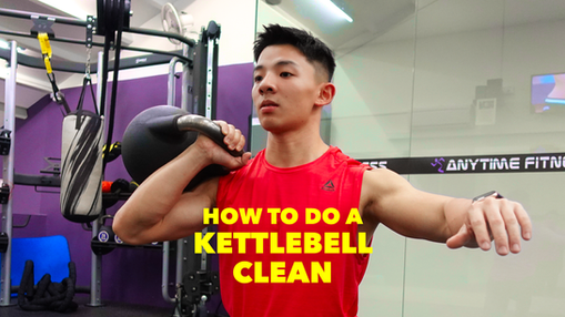 Kettlebell Cleans