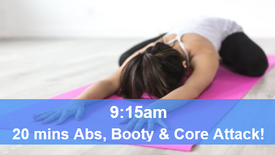 28/05/21 20 mins, Abs, booty and core attack.