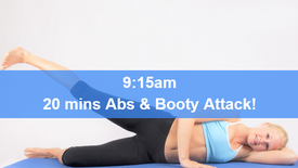 13/04/21 20 mins, Abs, booty and core attack.