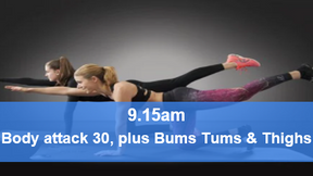 03/05/21 body attack 30, plus Bums Tums Thighs.