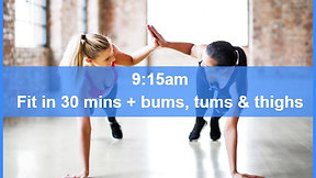 22/03/21 body attack 30, plus Bums Tums Thighs.