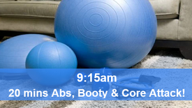 21/05/21 20 mins, Abs, booty and core attack.